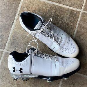Under armour Spieth 1 white golf shoe size 11.5